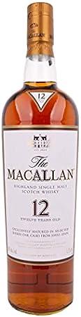 The Macallan The Macallan 12 Years Old SHERRY OAK Highland Single Malt Scotch Whisky 43% Vol. 1,75l - 1750 ml