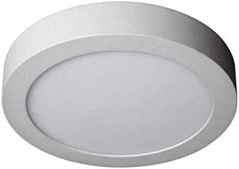 (LA) Pack Plafón Downlight LED Circular 18W superficie. 1600 lumenes reales. Driver incluido. (Blanco Frio (6500K), Pack 5x)