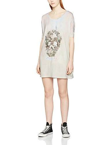 Religion Stand Out, Vestido para Mujer Grey (Skull Illusion)