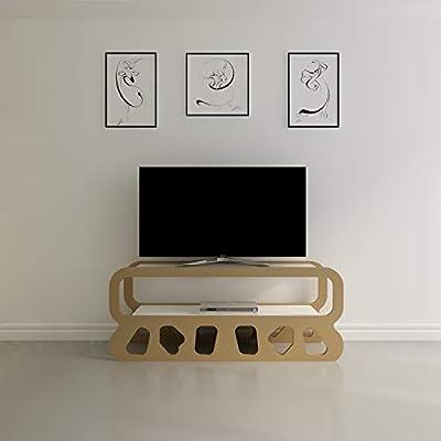 DECOROTIKA Flintstones - Soporte para televisor (47 Pulgadas), Ideal para Sala de Estar pequeña: Amazon.es: Juguetes y juegos