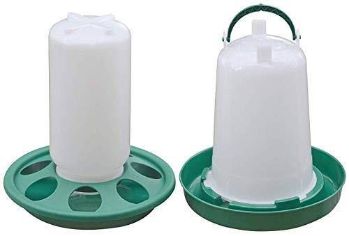 RentACoop Chick Feeder Waterer Kit (1.5 L Waterer 1L Feeder Kit)