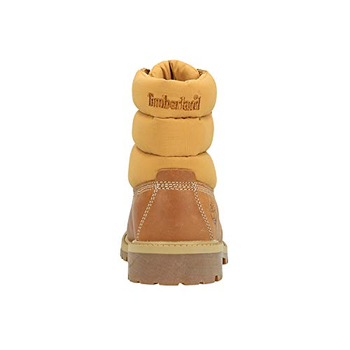 6IN Timberland para Quilt Mujer Botin Marron Boot drarxw