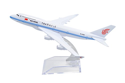 TANG DYNASTY(TM) 1:400 16cm Boeing B747-400 Air China Metal Airplane Model Plane Toy Plane Model