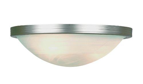 Trans Glob Lighting 6213 BNTrans Globe Lighting Indoor Halley Wall Sconce, Brushed Nickel, 7