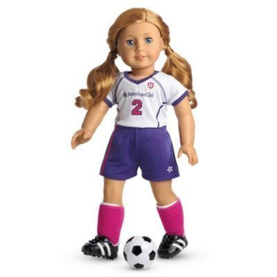 7b4f1badcaf Image Unavailable. Image not available for. Color: AMERICAN GIRL DOLL Soccer  Set for My ...
