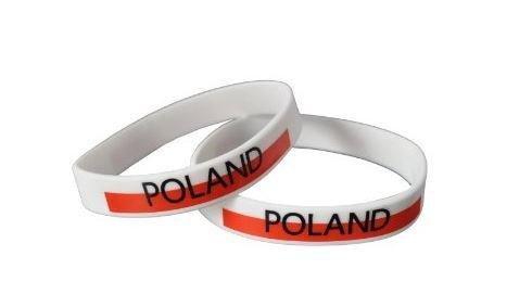 10 xポーランド – シリコンWristbands   B00EYZZI6I
