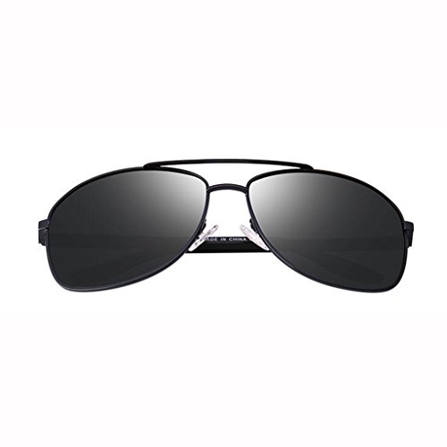 excursionistas Gafas visera Gafas Gafas nuevas Star hombre Gafas Conducción colores UV400 de sol 5 de de de para Regalo Opcional sol sol con para sol Gafas Gray Protección Frame; Black B sol polarizadas UV de retro Depor qtOIt