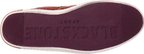 Blackstone 6 INCH WORKER ON FOXING AM02 - Zapatillas de cuero para hombre Rojo (Rot (Rouge (Rust)))