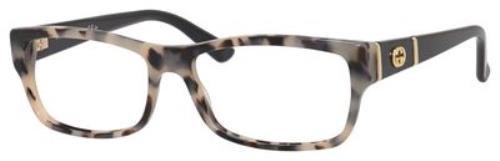 GUCCI 0MKJ Havana Black - Gucci Safilo Frames Eyeglass