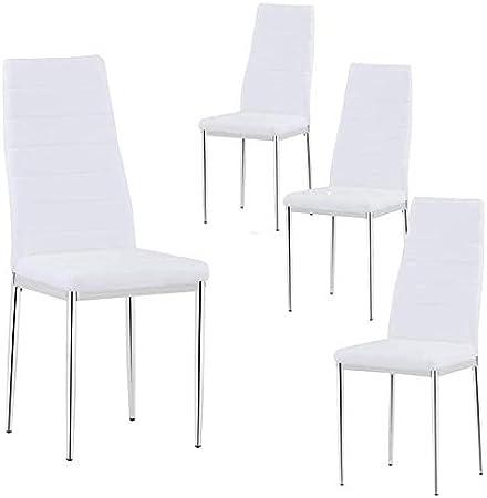 sillas comedor color blanco
