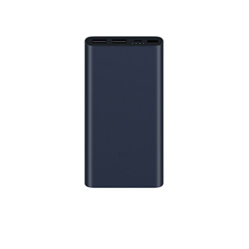 Price comparison product image Xiaomi 10000mAh Mi Power Bank External Battery Charger Pack Portable Charger (New 10000mAh 2,Blue)