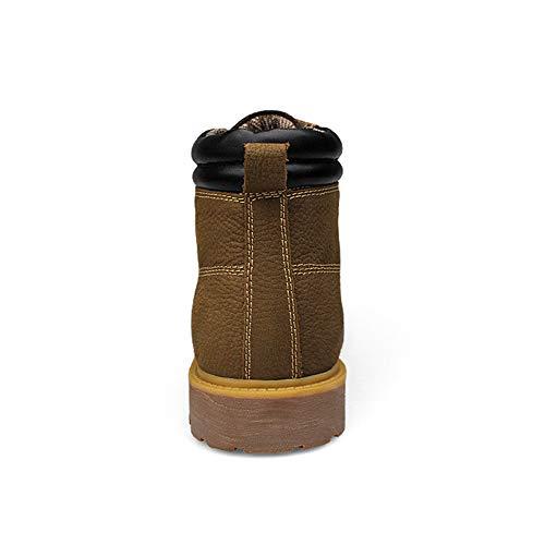 Pour De Mxnet Kaki Retro 39 Eu Kaki Hommes Grande Taille Et Casual Supérieure Bottines Travail color Antidérapante Chaussures xIpwIqPR