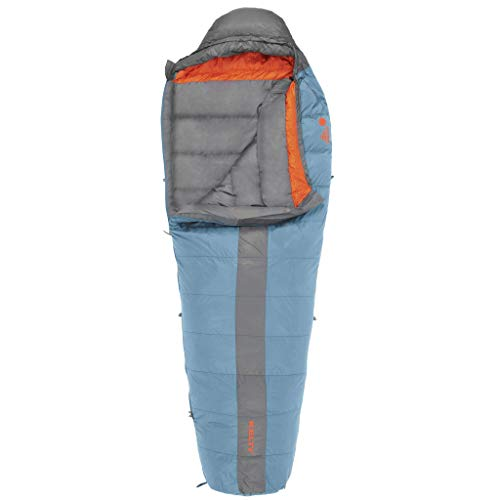 Kelty Cosmic 20 Degree Down Sleeping Bag - Regular - Ultralight Backpacking Camping Sleeping Bag with Stuff Sack (Renewed) (Best 20 Degree Down Sleeping Bag)