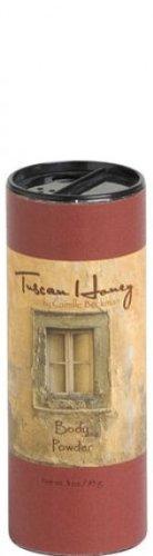 Camille Beckman Tuscan Honey Perfumed Body Powder 3 oz.