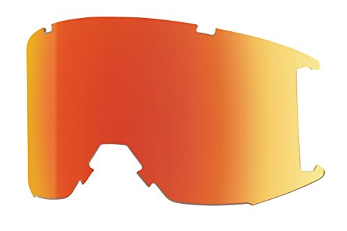 Smith Optics Squad Men's Replacement Lens Eyewear Accessories - ChromaPop Everyday Red Mirror