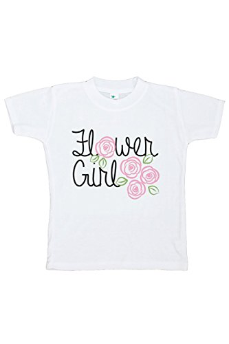 Custom Party Shop Youth Girl's Flower Girl Wedding T-shirt Small by Custom Party Shop