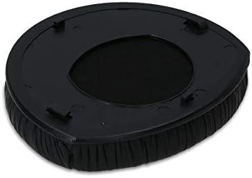 kwmobile 2x イヤーパッド対応: Sennheiser RS165 / RS175 / RS185 ヘッドフォン - PUレザー イヤーパッドカバー 交換用