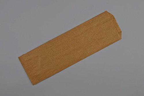 Submarine Sandwich Bag, Hoagie Bag, Sub Bag, Natural Kraft Paper, 4.5 x 2 x 14 inch Size, 1000 Bags Per Box