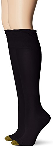 Gold Toe Womens Non-Binding Knee High Sock 2-Pack