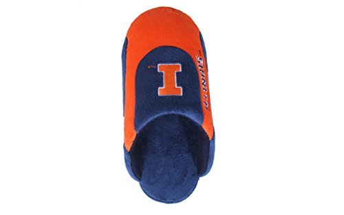 Feet NCAA Pro Happy OFFICIALLY Mens College Slippers LICENSED Illinois Low Womens Illini and dYUqUHxSB