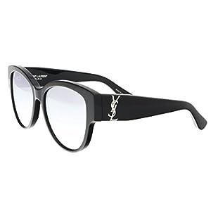 Saint Laurent M 3 SL M 003 BLACK/SILVER/BLACK Sunglasses