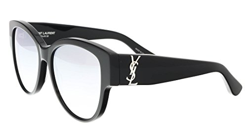 Saint Laurent M 3 SL M 003 BLACK / SILVER / BLACK Sunglasses by Saint Laurent