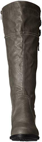 Calf High Bradenn Wide Boot PAIRS DREAM Women's Grey Knee xw8nHvIqaC