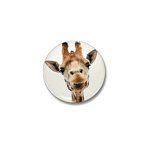 CafePress Funny Smiling Giraffe Button product image