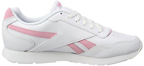 Glide light Royal white Sneaker Pink Reebok Bianco Donna 51zYn1vW