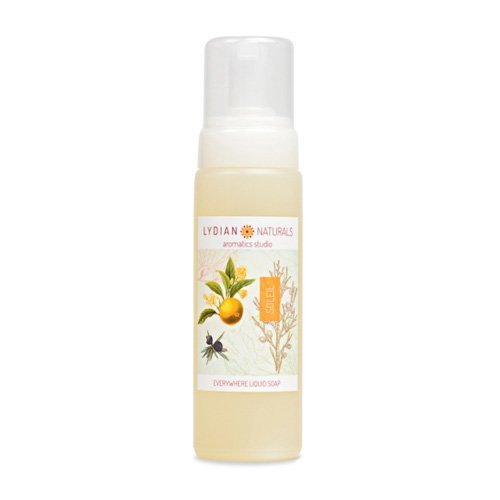 Soleil EVERYWHERE LIQUID SOAP made with pure essential oils by Lydian Naturals Aromatics Studio
