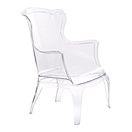 Zuo Modern Vision Chair, Transparent