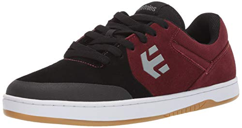 Etnies Men's Marana Skate Shoe Black/Dark Grey/RED 13 Medium US