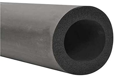 """1/2"""" x 6 ft. EPDM Pipe Insulation, 3/8"""" Wall"""