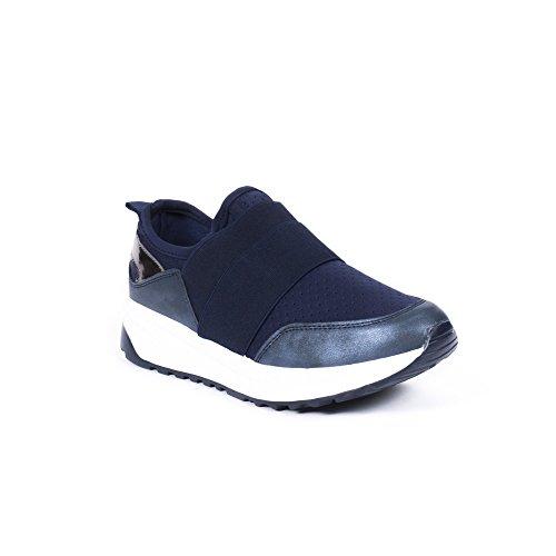 élastiques Style Bandes Shoes Matière Ideal Jocelyna avec Running Baskets bi H8AgxwOq