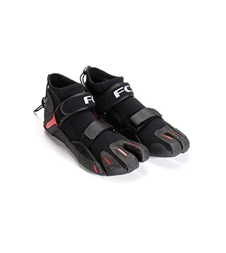 (FCS SP2 Split Toe Reef Bootie - Black/Red)