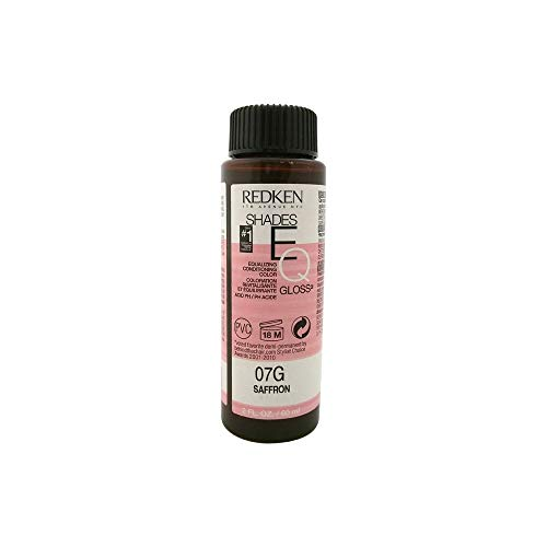 Gloss Color Conditioning (Redken Shades EQ Equalizing Conditioning Color Gloss, 07G - Saffron)