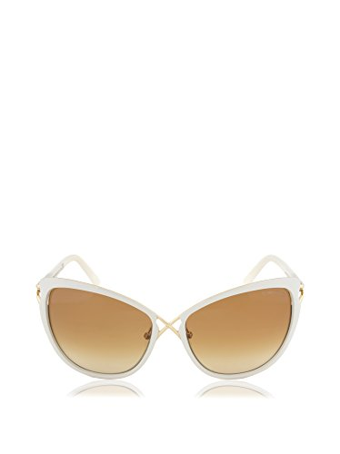 TOM FORD CELIA TF322 SUNGLASSES FT 322 BUTTERFLY CAT EYE GLASSES 32F BROWN - Sunglasses Ford Cat Tom Eyes
