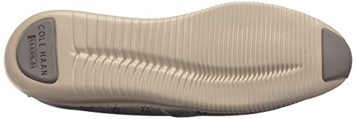 Cole Haan Dames Studiogrand Perf Slip Op Loafer Van Tin Metallic Geperforeerde Nubuck