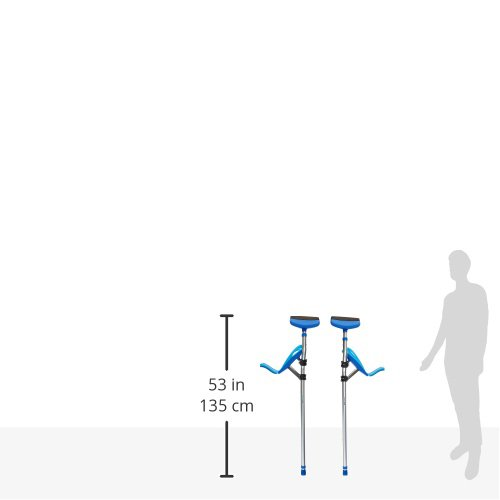 Better Walk Crutches – As Seen on Forbes, Inc, & CNN – Adjustable, Ergonomic Handles, Comfortable & Easy to Use - By BWHealth by Better Walk (Image #8)