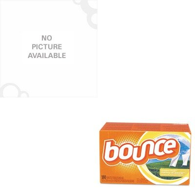 KITCOX30769PAG80168CT - Value Kit - Clorox Concentrated Regular Bleach (COX30769) and Bounce Fabric Softener Sheets (PAG80168CT)