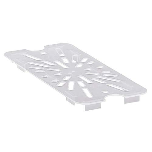 Cambro (30PPD190) Third-Size Translucent Food Pan Drain Shelf