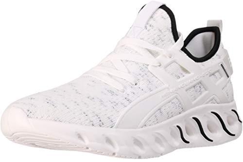 b647f9efc78 ... BRONAX Mens Tennis Shoes Lace up Slip on Lightweight Comfortable  Fashion Stylish Tennis Gym Walking Casual ...