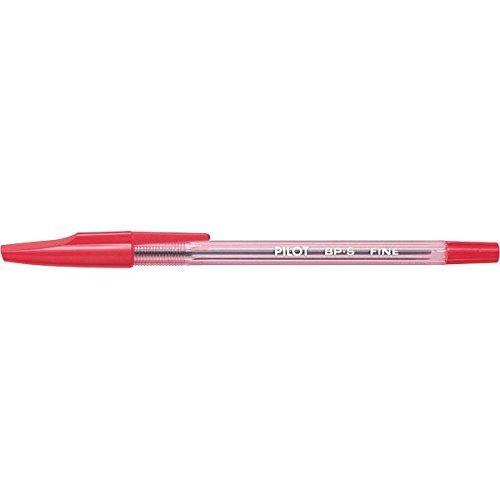 Pilot Ballpoint Pen Fine Red