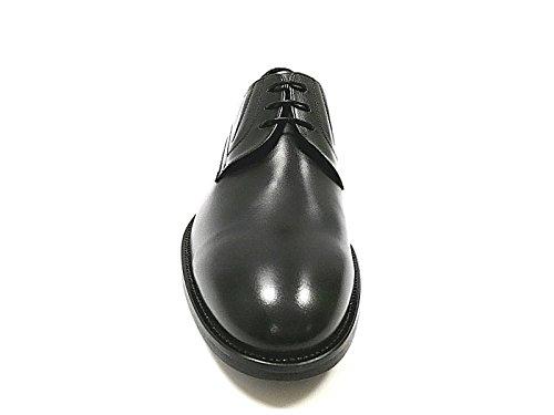 Neuleiss Eleganti Scarpe Da Uomo In Vera Pelle Nere - Classiche Derby, Scarpe Da Lavoro, Stringate - 100% Pelle Nera
