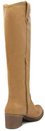 Rampage Italie Natural Women's High Riding Boot Knee wHgnSR