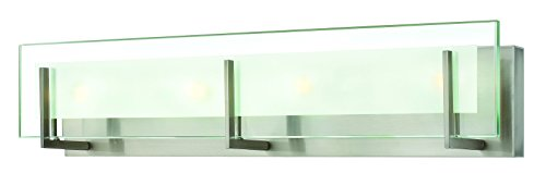 Hinkley 5654BN Contemporary Modern Four Light Bath