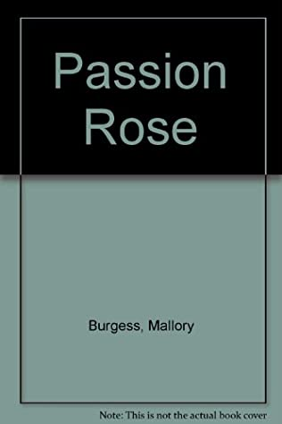 book cover of Passion Rose
