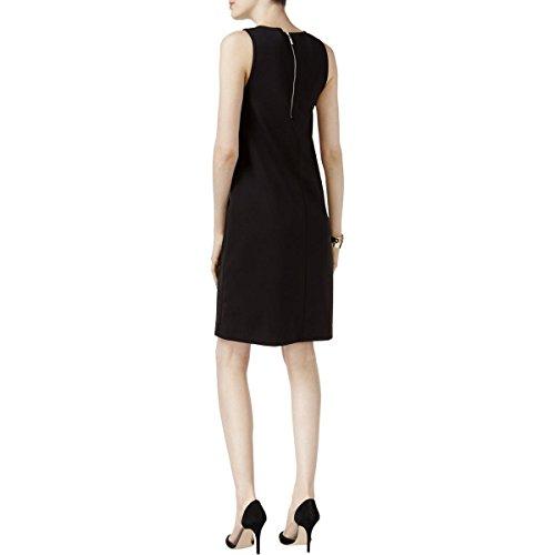 Scuba Dress Alfani Mini Colorblock Petites Womens Light Black Blue IwgBx6q