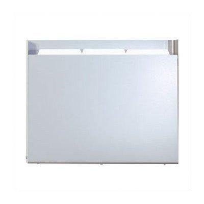 Steel One Pocket Medical & File Chart Holder Steel Shell Finish: Soft White, Holder Style: Standard Pocket Standard Chart Holder