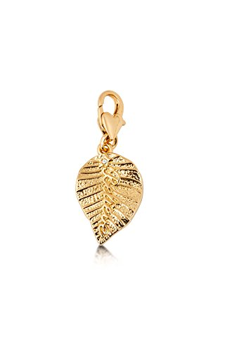 - Disney Couture Tinker Bell Believe Leaf Charm